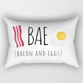 Bae - Bacon and Eggs Rectangular Pillow