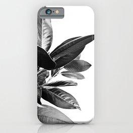 Grandiflora II - bw iPhone Case