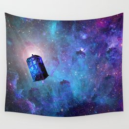 Travel Through Time Wall Tapestry