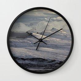 Trotternish Peninsula and Cuillin Mountains Isle of Skye Wall Clock