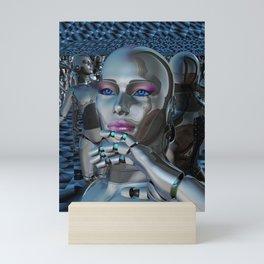 Robotic Chaos Mini Art Print