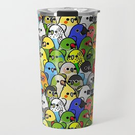 Too Many Birds Bird Squad Travel Mug