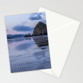 Daybreak at Haystack Rock Stationery Cards