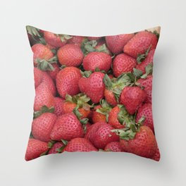 Just Picked Throw Pillow