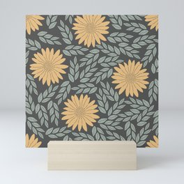 Autumn Flowers Mini Art Print