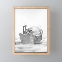 HIPO BATH Framed Mini Art Print