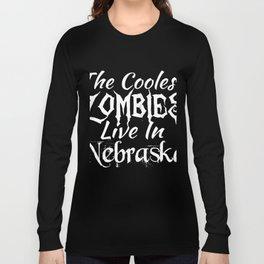 NebraskaThe Coolest Zombies Long Sleeve T-shirt