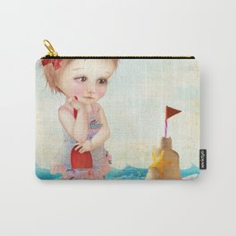 Samantha at the shore Carry-All Pouch