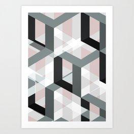 geometric 11 Art Print