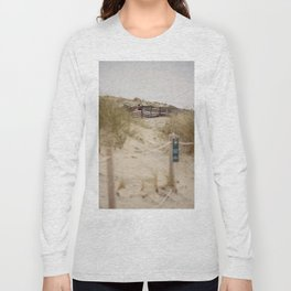 Walking In The Dunes Long Sleeve T-shirt