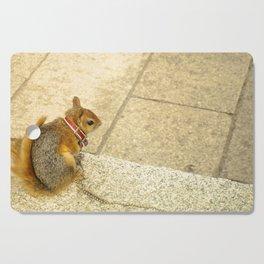 Squirrelly  Sightings Cutting Board