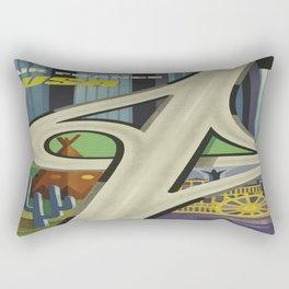 Vintage poster - USA Rectangular Pillow