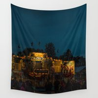 carnival Wall Tapestries featuring Carnival by Leandra