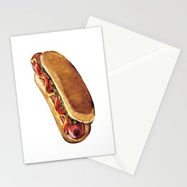 Just Hot Dog Stationery Cards