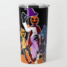 Pumpkin siblings Travel Mug