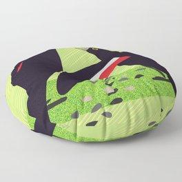 Tumbling Song Floor Pillow