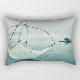 Frozen Fishing net Rectangular Pillow