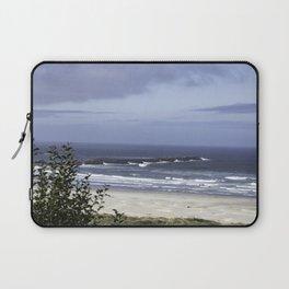 New Port Beach View Laptop Sleeve