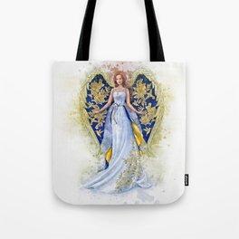 Floral Angel Tote Bag