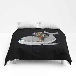 Above and beyond outer space Comforters