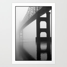 Savanna-Sabula Bridge Art Print
