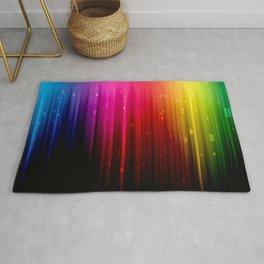 colors rainbow Rug