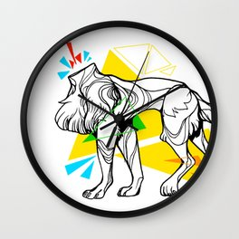Primary dogs XVII: Don't lose your head! Wall Clock
