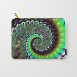 Fractal Staircase Carry-All Pouch