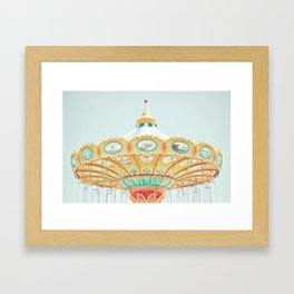 I See Happiness Framed Art Print