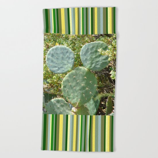 Mickey Cactus | Greek Nature Beach Towel