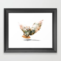 OWL NATURE Framed Art Print