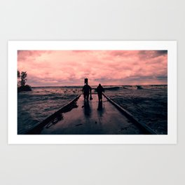 Good Day for Fishing Art Print