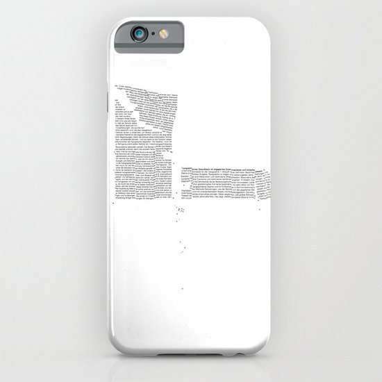 Erosion & Typography 4 iPhone & iPod Case