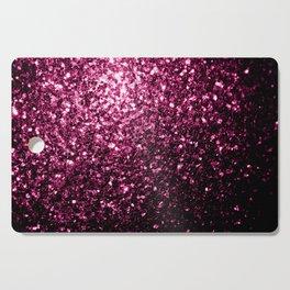 Beautiful Dark Pink glitter sparkles Cutting Board