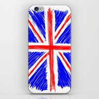 flag iPhone & iPod Skins featuring Flag by Svetlana Sewell
