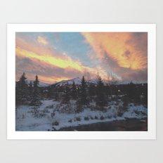 Breckenridge Colorado Art Print