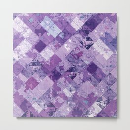 Abstract Geometric Background #30 Metal Print