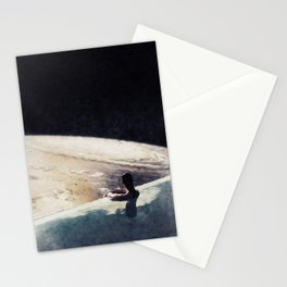 edge of uncertainty Stationery Cards