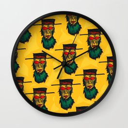 Beware the killer Amish! Wall Clock