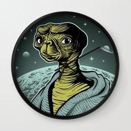 ET portrait Wall Clock