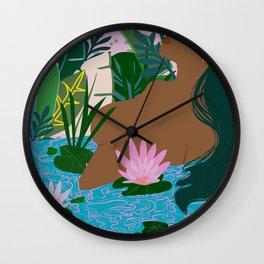 Soak II Wall Clock