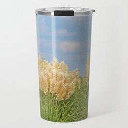 Pampas Grass Travel Mug