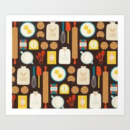 Cookie Party Art Print