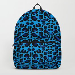 Blue Shades Animal Print Backpack