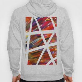 Colorful Chaos - White Stripes Hoody