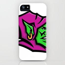 Goblin Head Mascot iPhone Case