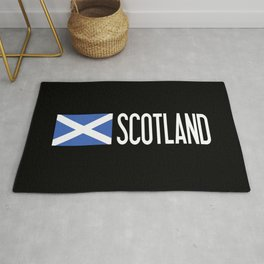 Scotland: Scottish Flag & Scotland Rug