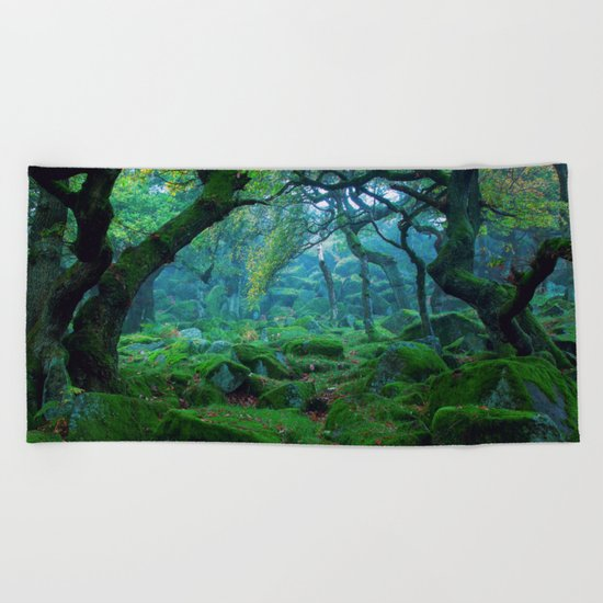 Forest #woods Beach Towel