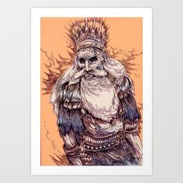 Gwyn, Lord of Cinder Art Print
