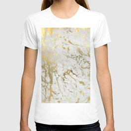 Gold marble T-shirt